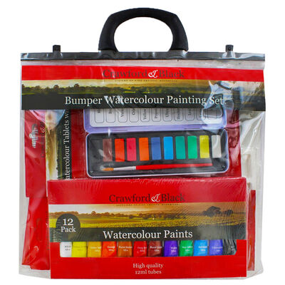 Bumper Watercolour Painting Set image number 1