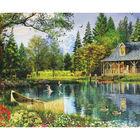 JCPi 1000pc Lakeside Cottage  image number 2