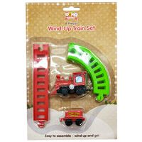 Christmas Wind Up Toy Train