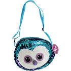 Blue Purple Owl Sequin 3 In 1 Bag image number 1