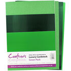 Crafters Companion A4 Luxury Cardstock Pack - Green image number 2
