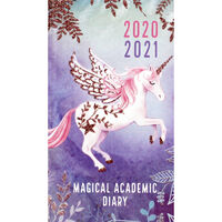 Slim Unicorn Week to View 2020-21 Academic Diary