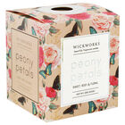 Floral Peony Petals Scented Candle image number 1