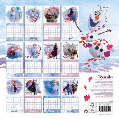 Disney Frozen 2 Official 2020 Calendar image number 3