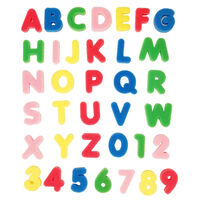 Letters and Numbers Sponge Set