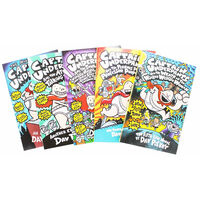 Captain Underpants 10 Book Box Set