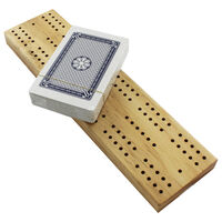 Traditional Wooden Cribbage Game