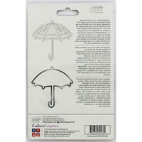 Crafters Companion Spring is in the Air Stamp and Die - Umbrella