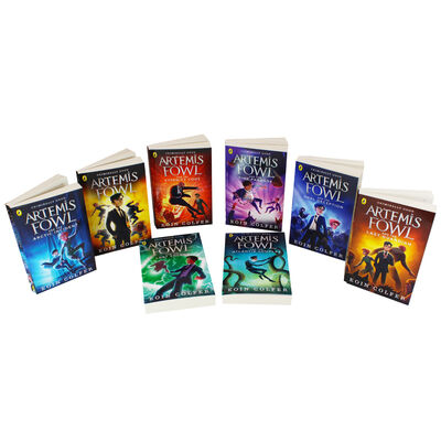 Artemis Fowl: 8 Book Collection image number 2
