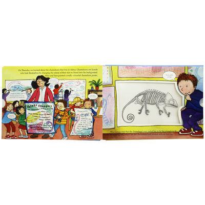 Safari Animal Adventure: Magic Skeleton Book image number 2