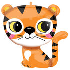 25 Inch Tiger Super Shape Helium Balloon image number 1
