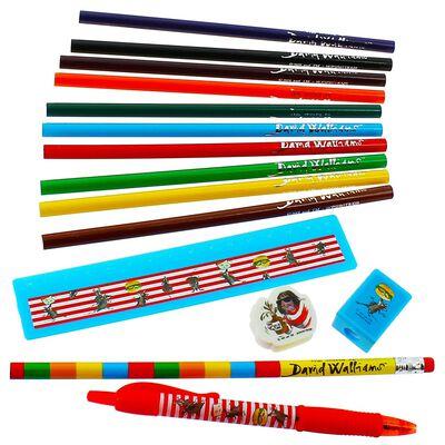The World of David Walliams Ratburger Filled Pencil Case image number 3