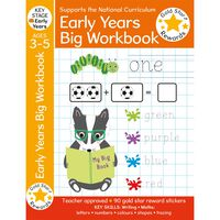 Gold Star Rewards: Early Years Big Workbook Ages 3-5