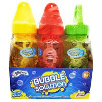 3 Bubble Bottles And Wands