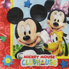Mickey Mouse Paper Napkins - 20 Pack image number 1