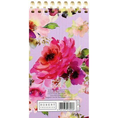 Lilac Bloom Wiro List Pad image number 3