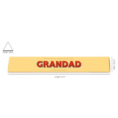 Toblerone Milk Chocolate 100g – Grandad image number 2