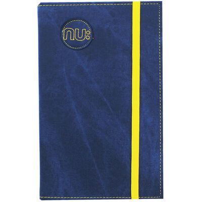 NU Blue Denim Maxi Lined Notebook image number 1
