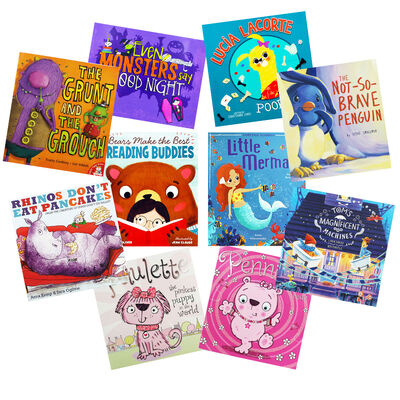 Reading Delight - 10 Kids Picture Books Bundle image number 1