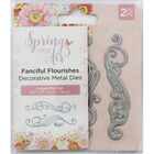 Crafters Companion Spring is in the Air Metal Die - Fanciful Flourishes image number 1
