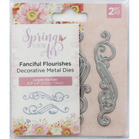 Crafters Companion Spring is in the Air Metal Die - Fanciful Flourishes