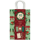 Assorted Deck the Halls Gift Bags: Pack of 5 image number 1