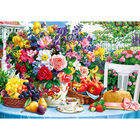 Summer Flowers 1000 Piece Jigsaw Puzzle image number 2