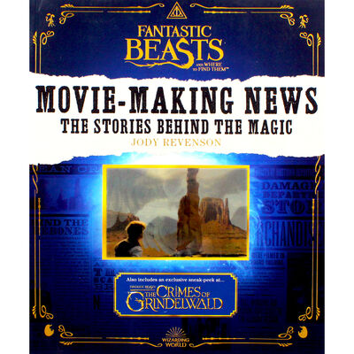 Fantastic Beasts Movie-Making News: The Stories Behind the Magic image number 1