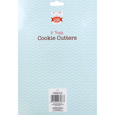 Easter Cookie Cutters - 5 Pack image number 2