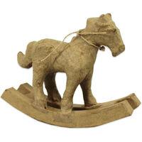 Decopatch Papier Mache Rocking Horse Figure