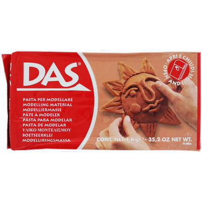 DAS 1kg Terracotta Modelling Clay image number 1