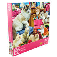 Funny Kittens 1000 Piece Jigsaw Puzzle