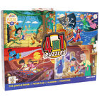 Adventure Fairytales 4 in 1 Puzzle Set image number 1