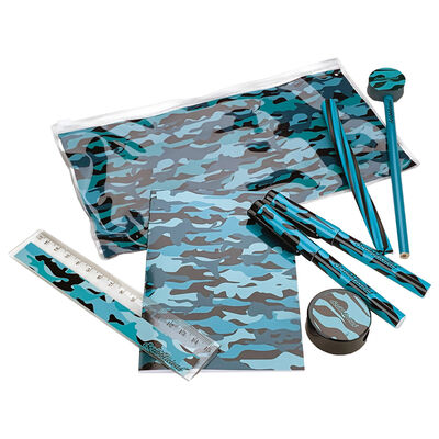 Green Camo Stationery Set image number 1