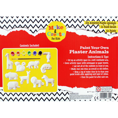 Paint Your Own Plaster Animals image number 4