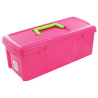 5L Pink Plastic Utility Box