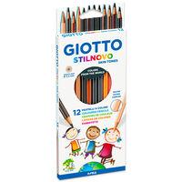 Giotto Stilnovo Skintones Colouring Pencils: Set of 12