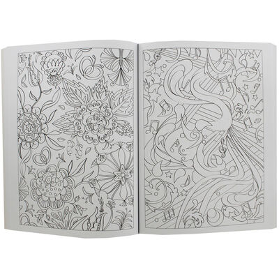 Art and Soul Love and Kisses Colouring Book image number 2