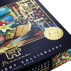 Candlelight Calligraphy 1000 Piece Gold-Foiled Premium Jigsaw Puzzle image number 3