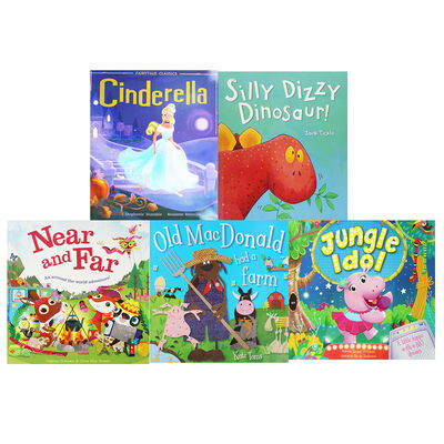 Cute Tales - 10 Kids Picture Books Bundle image number 3