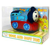 My First Thomas & Friends: Day On The Farm Book & Soft Toy