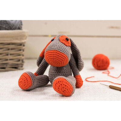 Dexter The Dog - Cute Companions Crochet Kit image number 3