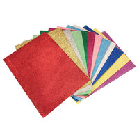 A5 Glitter EVA Sheets - 12 Pack
