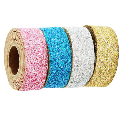 Mini Adhesive Glitter Tape - Coloured 4 Pack image number 1