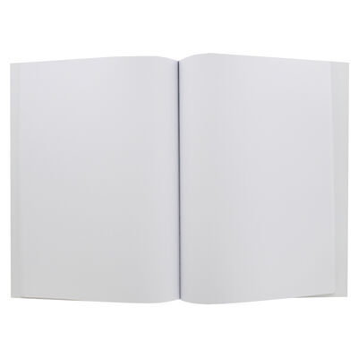 A4 Casebound Doodle Plain Notebook image number 2