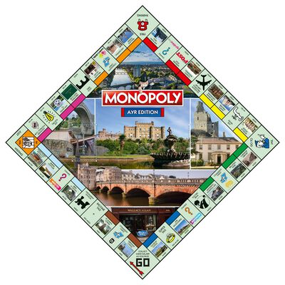Ayr Monopoly Board Game image number 3