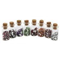 Mini Gem Craft Jars - Pack Of 8