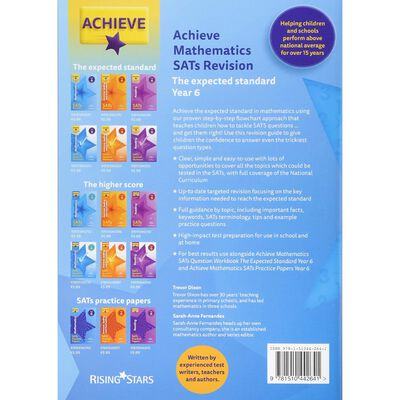 Achieve Mathematics SATs Revision: Year 6 image number 2