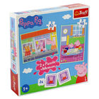 Peppa Pig 2-in-1 Jigsaw Puzzle Set image number 1