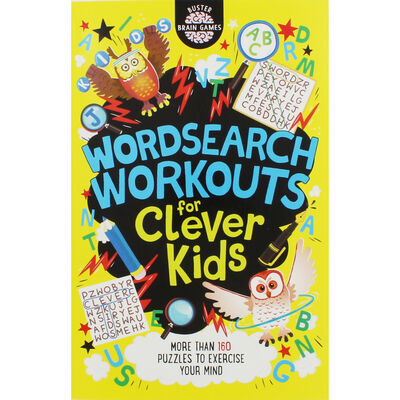 Wordsearch Workouts for Clever Kids image number 1